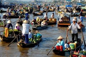 湄公河 - 前江 - 丐冷水上市场